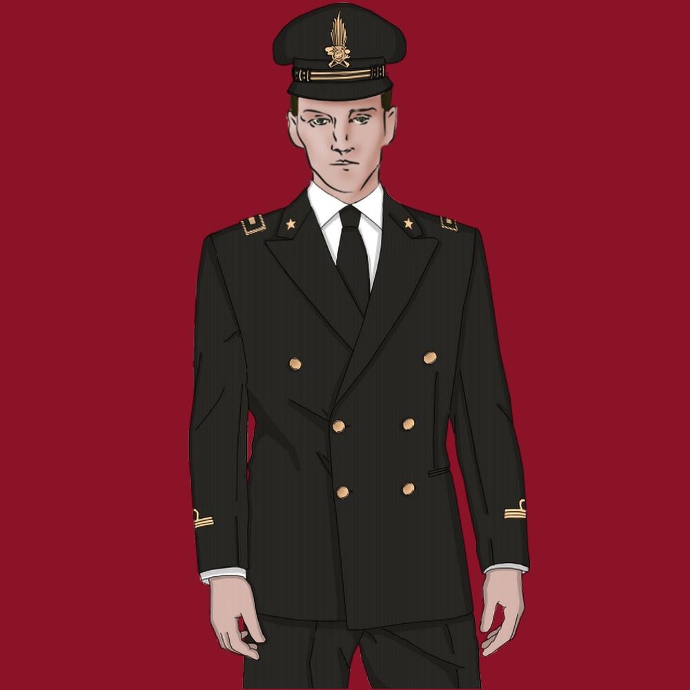Carabiniere Uomo Sartoria Leonardo