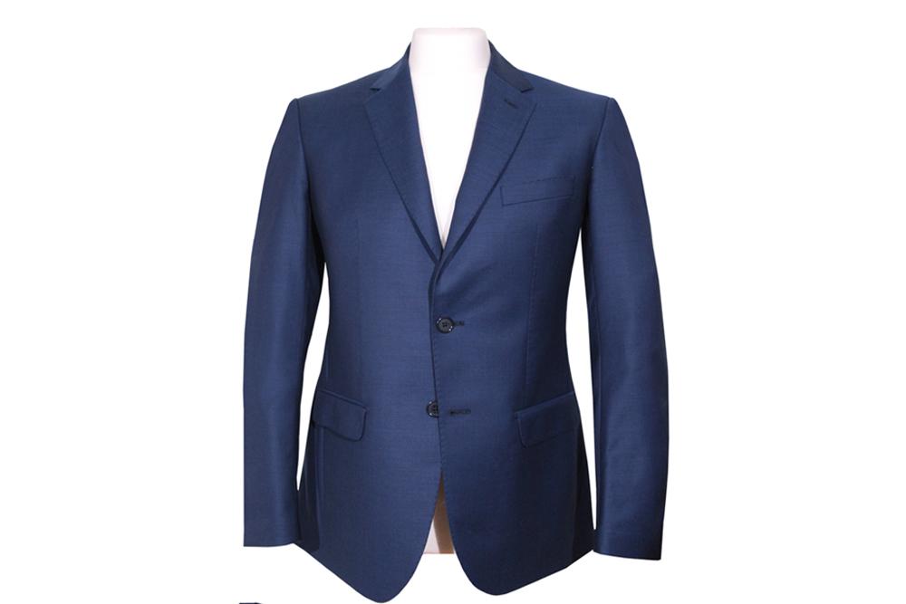 giacca blu sartoriale sartoria leonardo