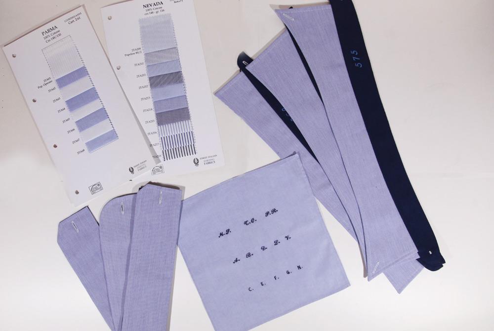 Camicia personalizzabile Sartoria Leonardo