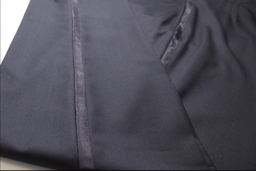 pantalone smoking uomo sartoria leonardo