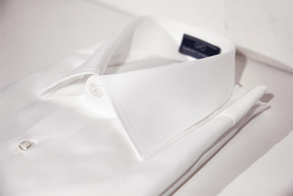 camicia bianca sartoria leonardo